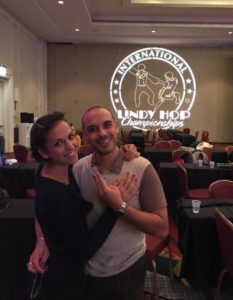 Marco ed Eleonora al International Lindy Hop Championship 2017
