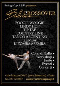 flyer generico crossover ballroom
